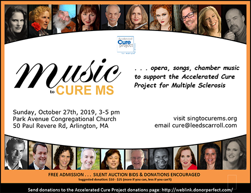Music to Cure MS 2019