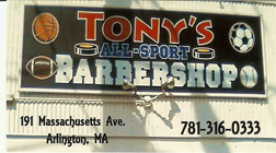 Tony's Barber Shop