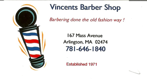 Vinent's Barber Shop