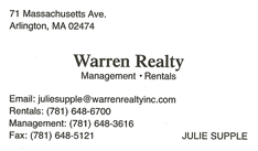 Warren Realty