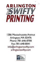 Arlington Swifty Printing