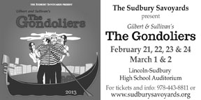 Sudbury Savoyards:The Gondoliers
