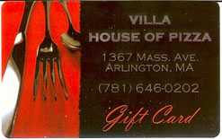 Villa House of Pizza